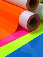 Plastic films coating