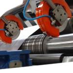 Papier- und Folienwickler für schmale Bahnbreiten
