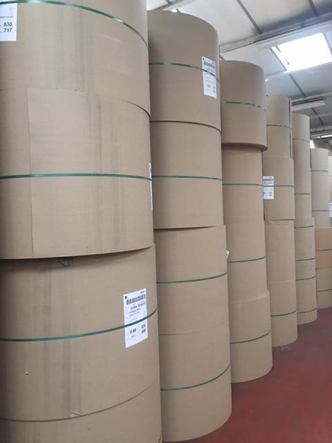 Découpe enduction papier pour papeteries
