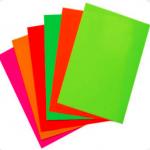 Neon-posters voor drukkerijen en groothandel