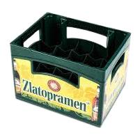In mould label caisse bière